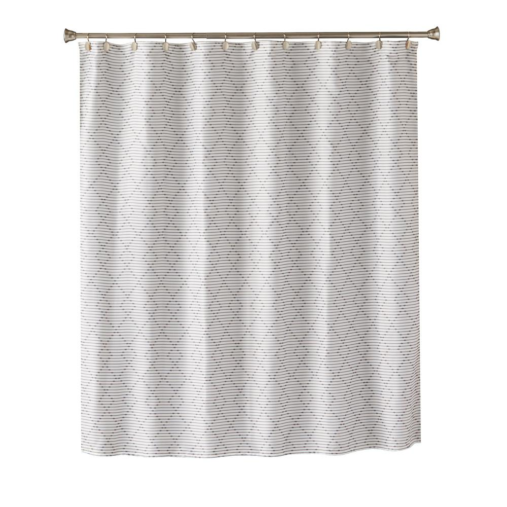 Charcoal Shower Curtain U1239300200001
