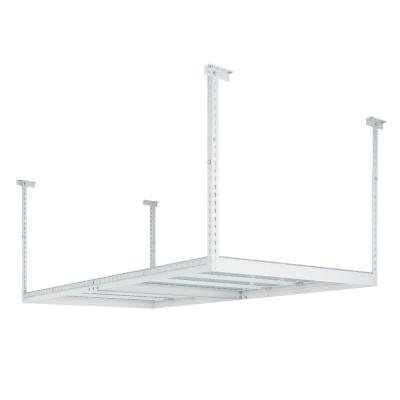 VersaRac 48 in. W x 42 in. H x 96 in. D Adjustable Ceiling Mounted Storage Rack in White