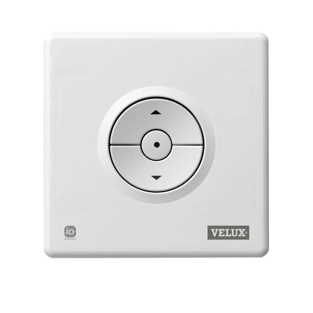 velux radio frequency keypad for solar powered and electric skylight blinds kli 110 us the. Black Bedroom Furniture Sets. Home Design Ideas