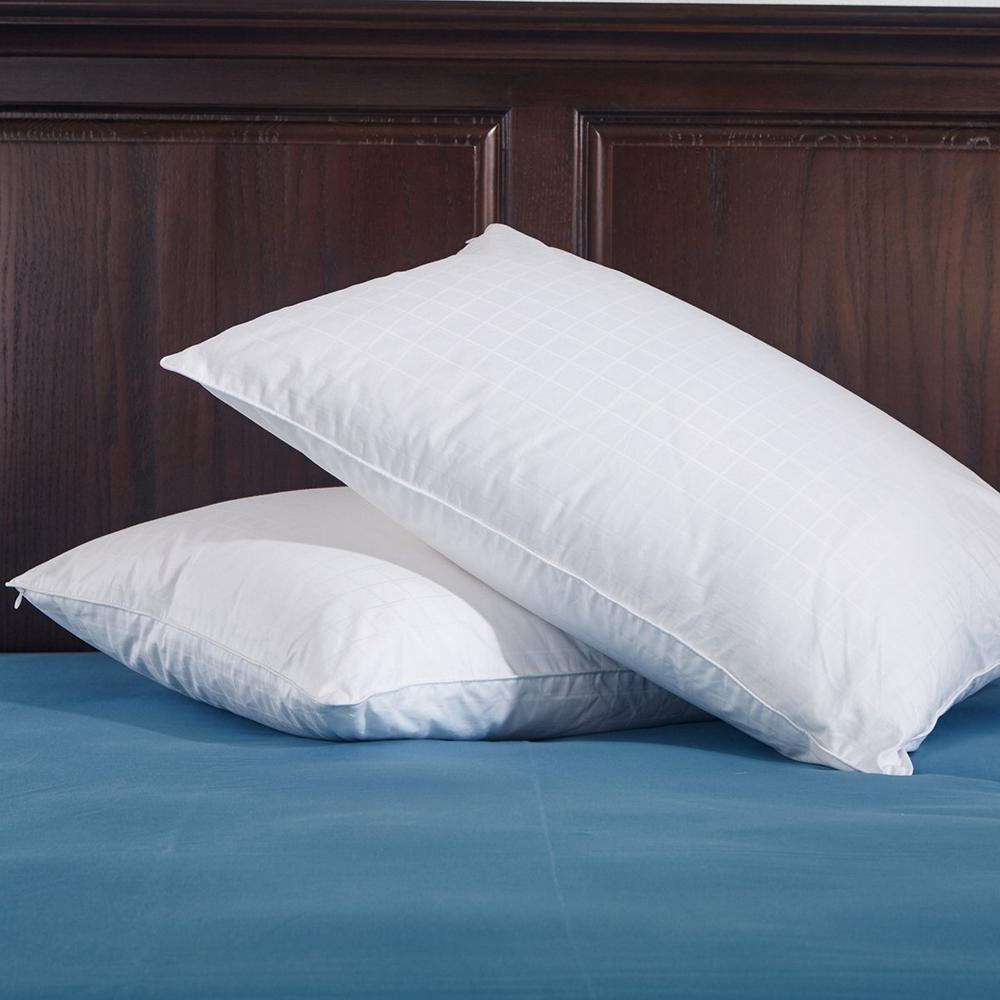 Puredown White Down Pillow, Twin Pack King in White