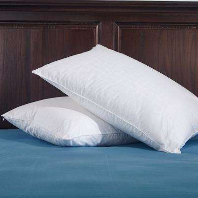 Puredown White Down Pillow Twin Pack Standard in White