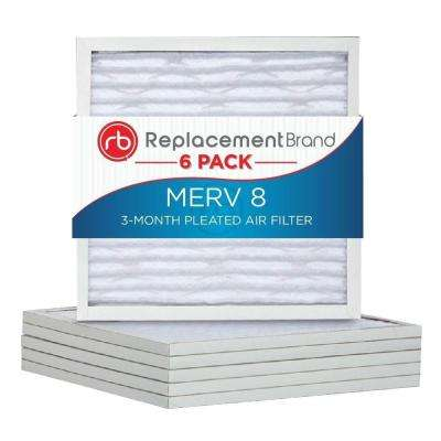 20 in. x 20 in. x 1 in. MERV 8 Air Purifier Replacement Filter (6-Pack)