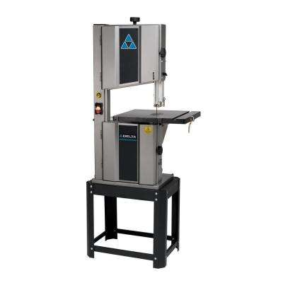 10 Amp 1HP 14 in. 2-Speed Steel Frame Band Saw
