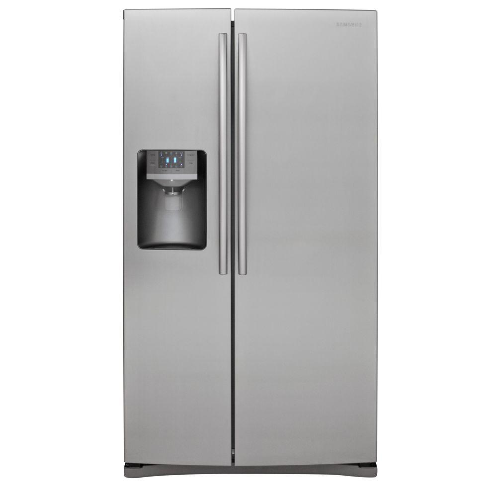 Samsung 25.6 cu. ft. Side by Side Refrigerator in Stainless Steel-DISCONTINUED