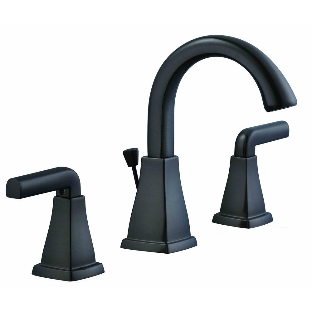 Glacier Bay Brookglen 8 In Widespread 2 Handle High Arc Bathroom Faucet In Oil Rubbed Bronze