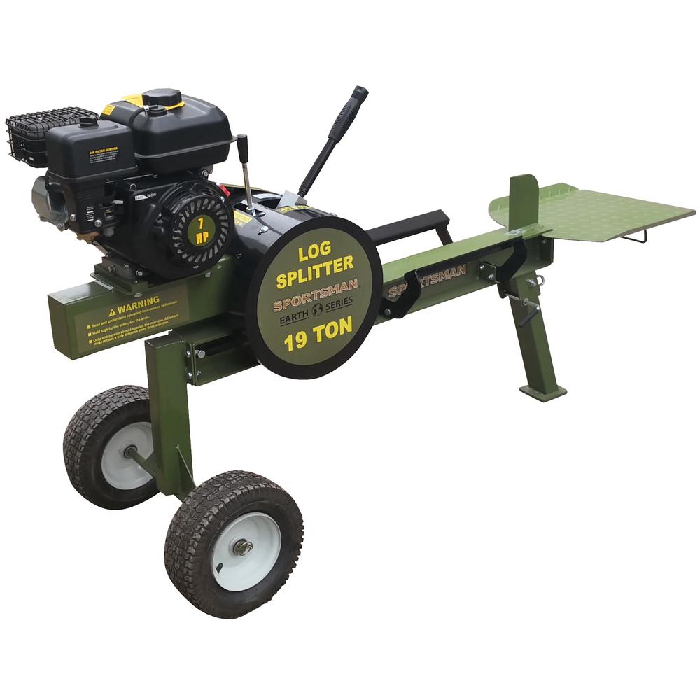Sportsman Earth Series 19-Ton 212 cc Gas Kinetic Log Splitter