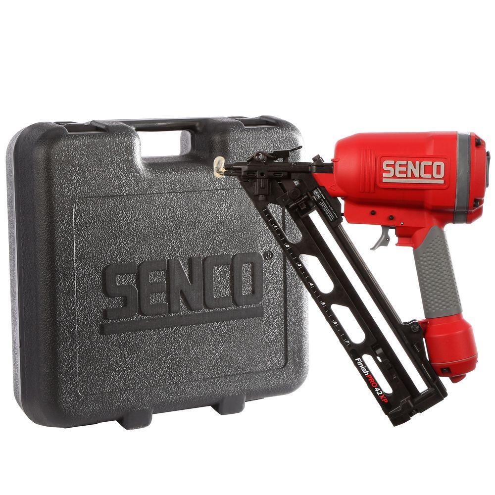 SENCO FINISHPRO 34 Degree Air Finish Nailer Adhesive