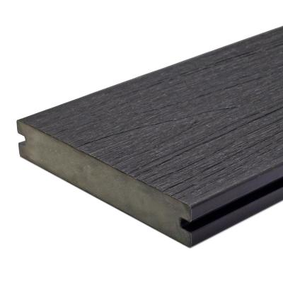 UltraShield Naturale Magellan 1 in. x 6 in. x 4 ft. Hawaiian Charcoal Solid with Groove Composite Decking Board (4-Pack)