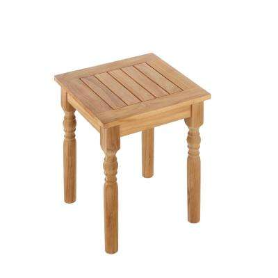 Old Town Teak Patio Side Table