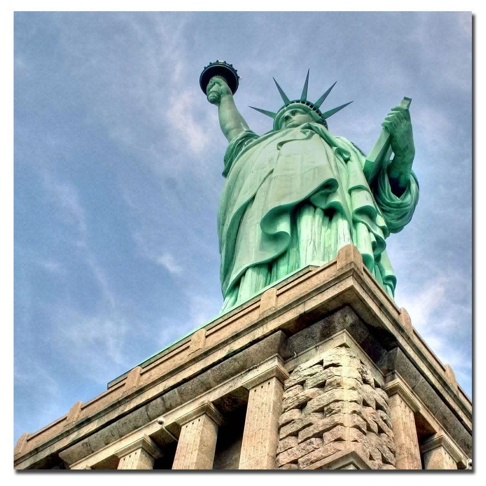 null 35 in. x 35 in. Liberty Canvas Art
