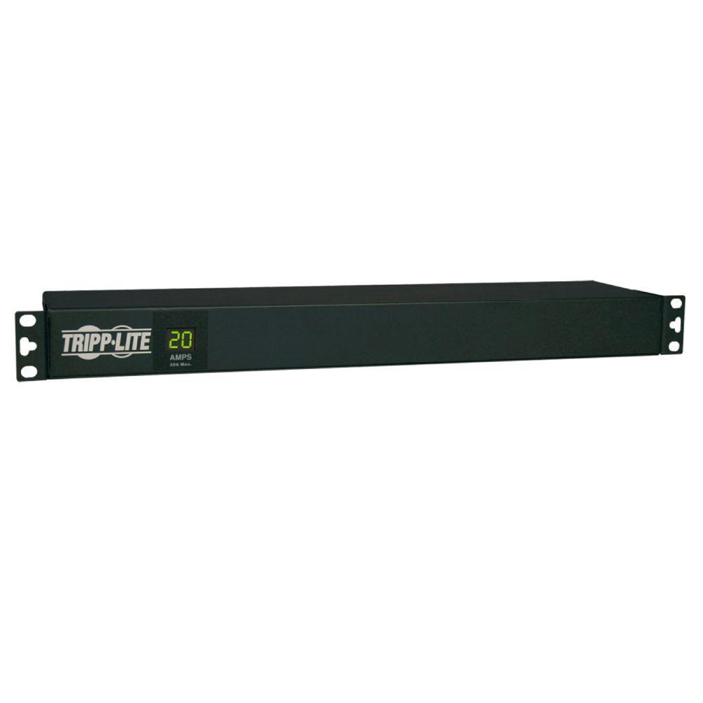 Tripp Lite PDU Metered 120-Volt 20-Amp / 5-15/20R 12-Outlet L5-20P ...