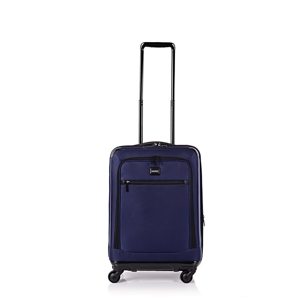 Exos I 26.5 in. Navy Hardside Spinner Suitcase