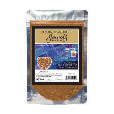 Crystal Glass Jewels Tigers Eye Additive