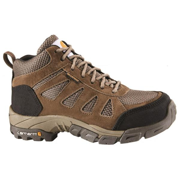Carhartt Women's 011M Brown Leather and