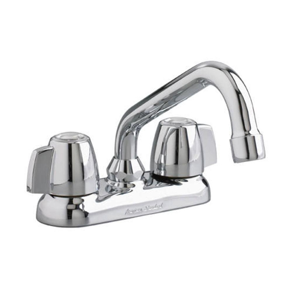 American Standard Cadet 4 in. Knob Style 2-Handle Laundry Faucet in ...