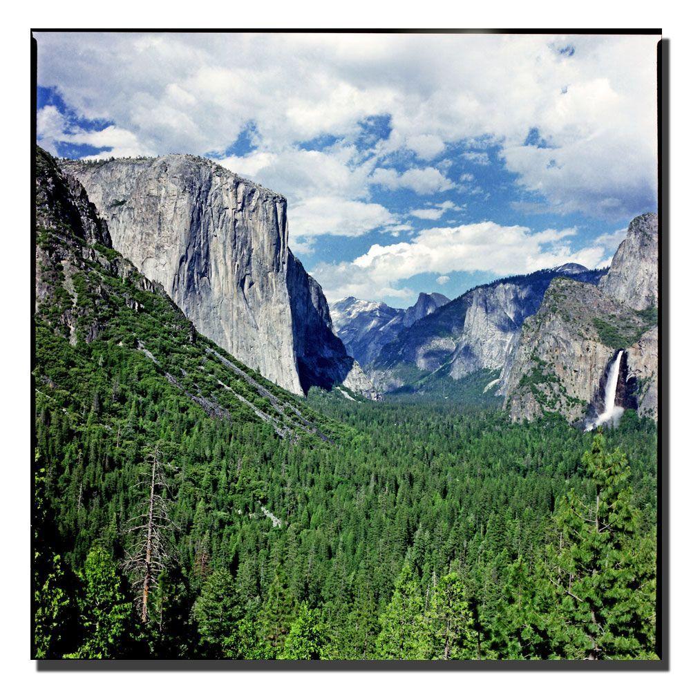 Trademark Fine Art 24 in. x 24 in. Yosemite III Canvas Art