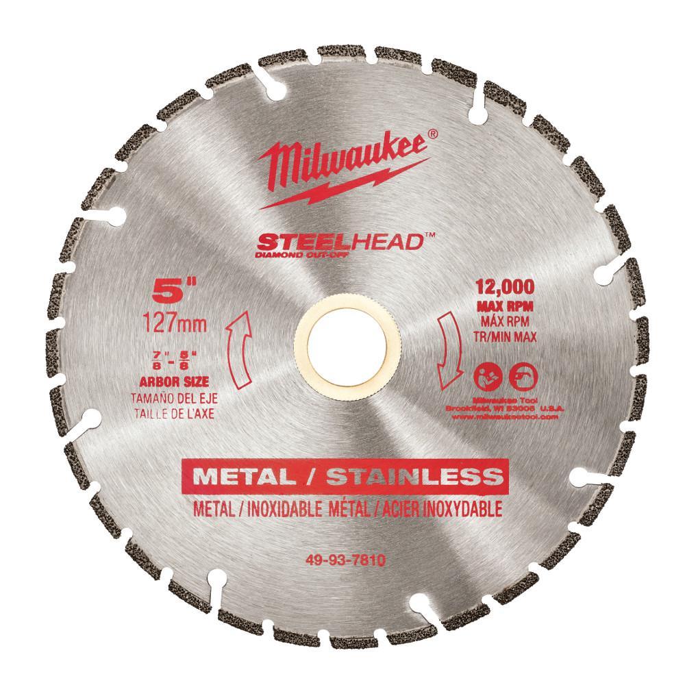 5 in. Steelhead Diamond Cut Off Blade