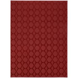 Sparta 6 Ft. x 9 Ft. Area Rug Chili Pepper Red