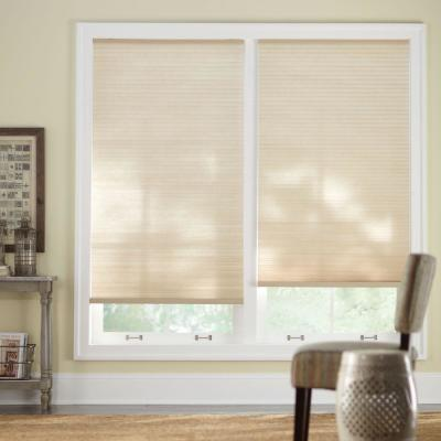 Sahara 9/16 in. Cordless Light Filtering Cellular Shade - 35 in. W x 48 in. L (Actual Size 34.625 in. W x 48 in. L)