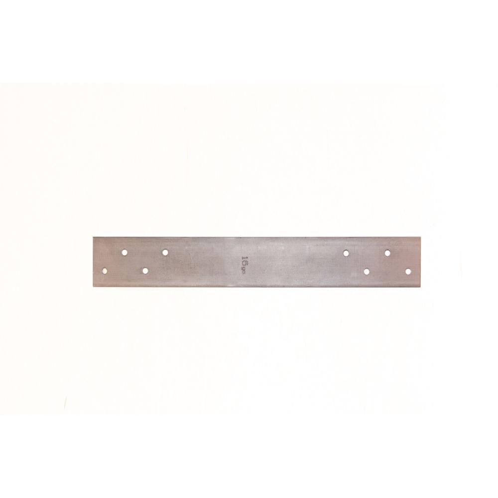 1-1/2 in. x 12 in. 16-Gauge 4 Holes  sc 1 st  The Home Depot & Basset Products 1-1/2 in. x 24 in. 14-Gauge 4 Holes FHA Nail Plate ...