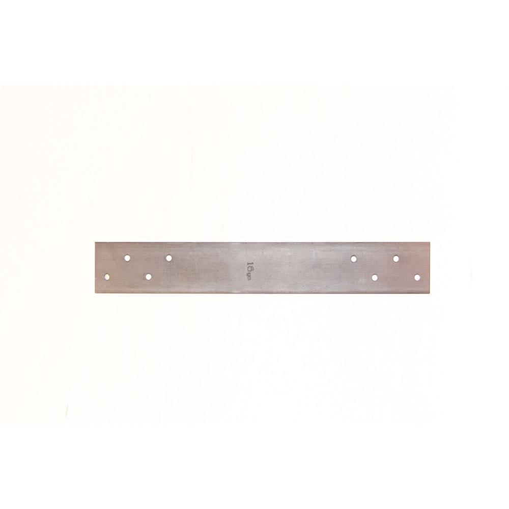 1-1/2 in. x 18 in. 18-Gauge 4 Holes FHA Nail Plate