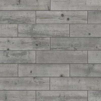 Timber Grey 6 in. x 24 in. Porcelain Floor and Wall Tile (448 sq. ft./ pallet)