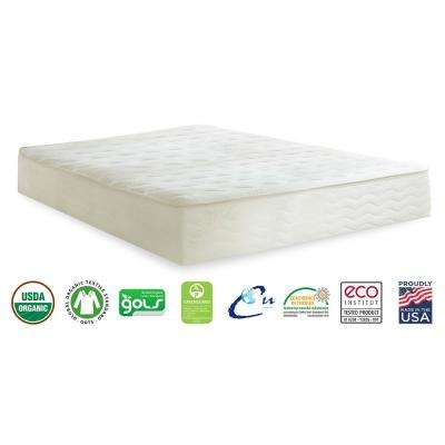 Botanical Bliss Split California King 10 in. Medium-Firm Latex Mattress