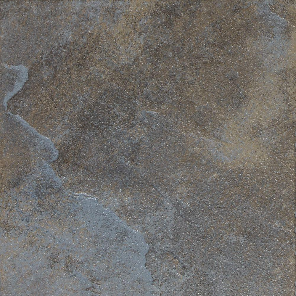 Daltile continental slate tuscan blue 6 in x 6 in for Daltile porcelain tile
