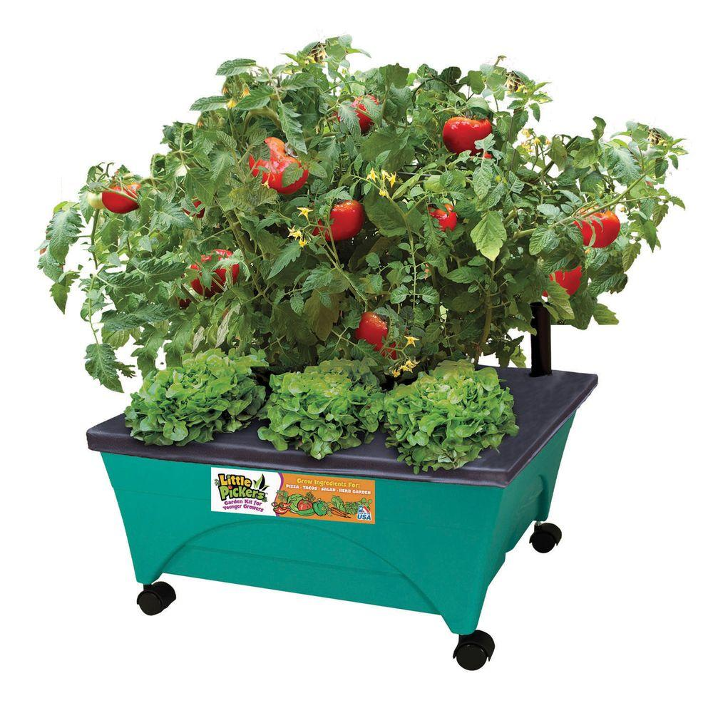 24.5 in. x 20.5 in. Patio Raised Garden Bed Grow Box