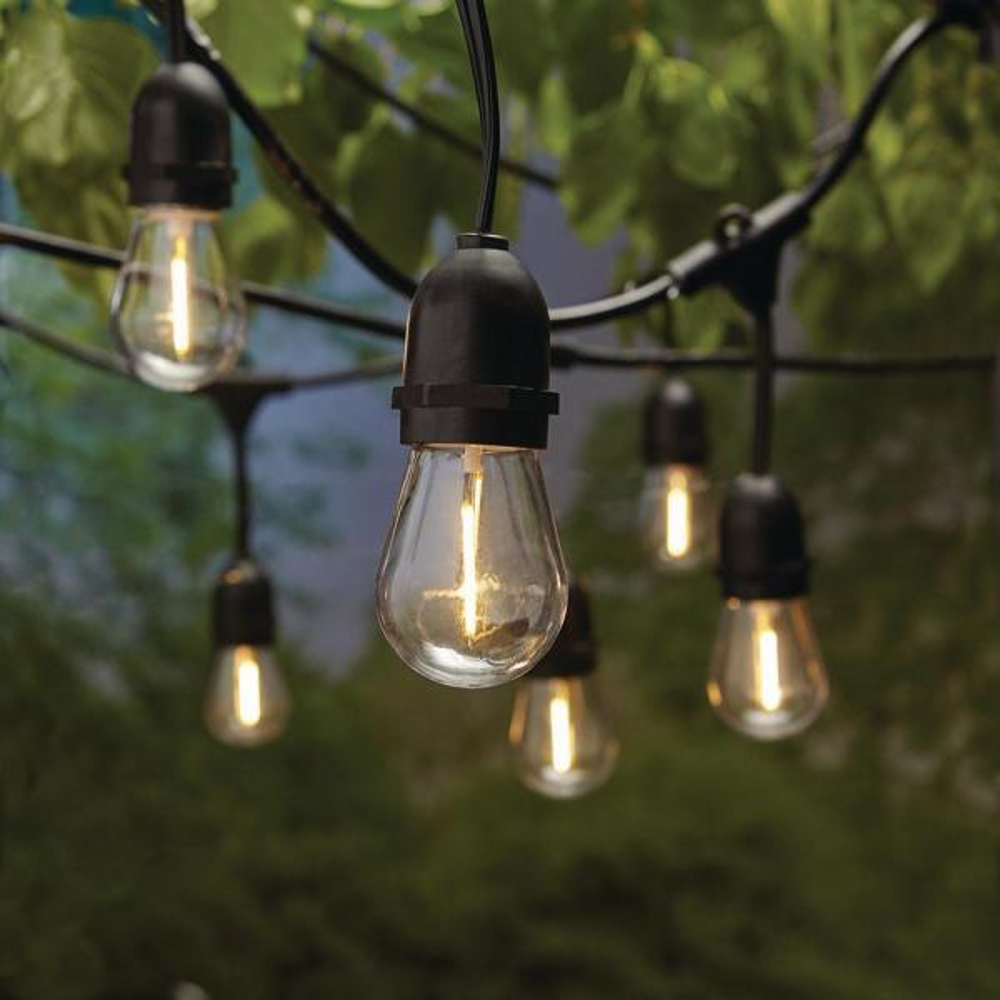 20 ft. 10 Socket LED Outdoor Solar String Light