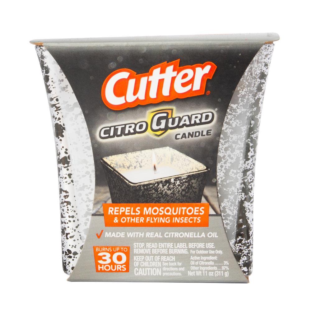 Cutter CitroGuard 11 Oz Citronella Outdoor Mosquito Candle