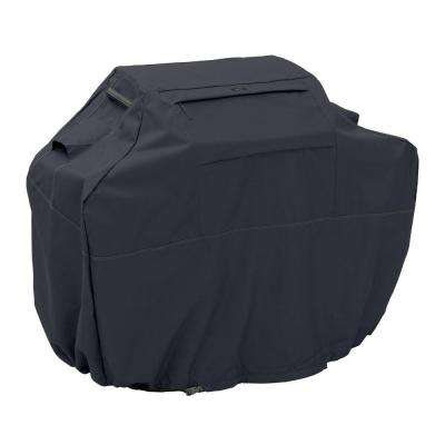 Ravenna Black 58 in. Medium BBQ Grill Cover
