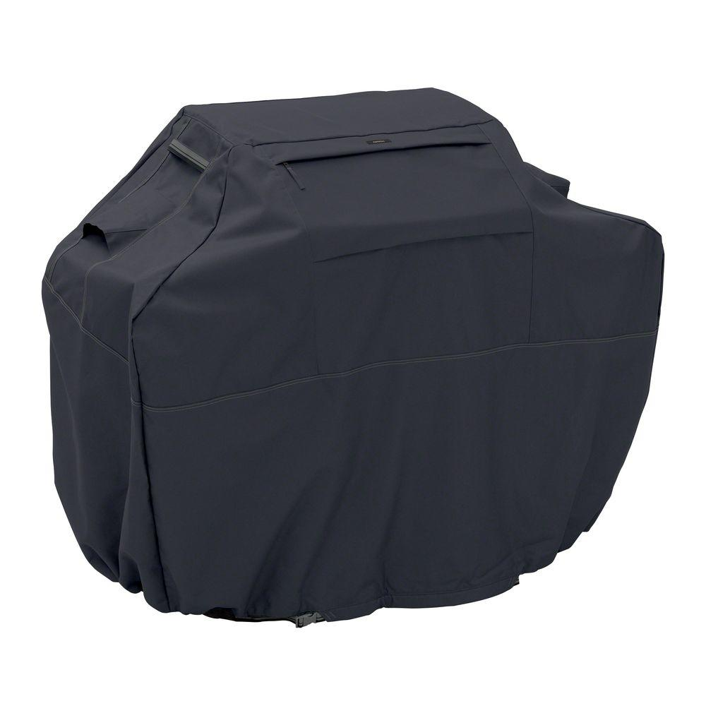 Classic Accessories Ravenna Black 72 in. XX-Large BBQ Grill Cover