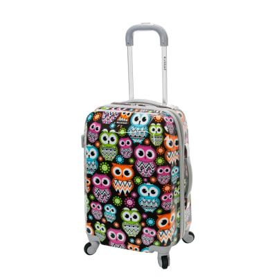 Vision 20 in. Owl Hardside Carry-On Suitcase
