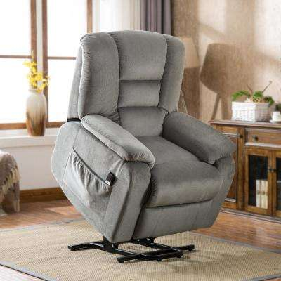Gery Gel Memory Foam Power Lift Recliner Chair