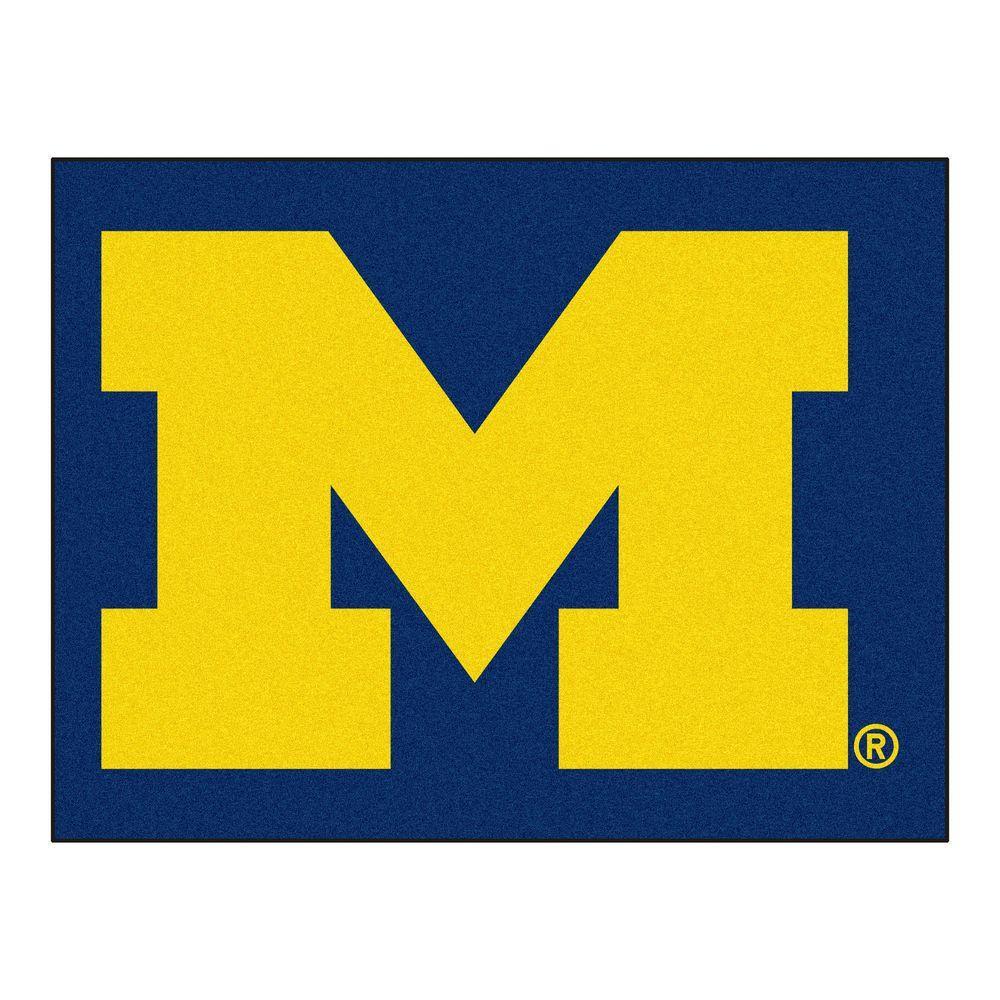 University of Michigan 3 ft. x 4 ft. All-Star Rug