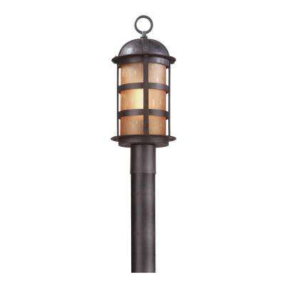 Aspen Outdoor Natural Bronze Post Light