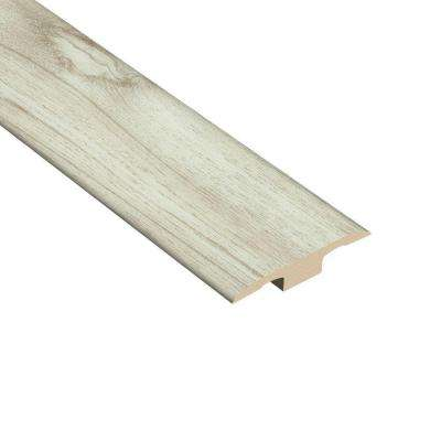 Hickory Sand 1/4 in. Thick x 1-3/8 in. Wide x 94-1/2 in. Length Vinyl T-Molding