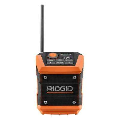 18-Volt Cordless Mini Bluetooth Radio with Radio App (Tool Only)