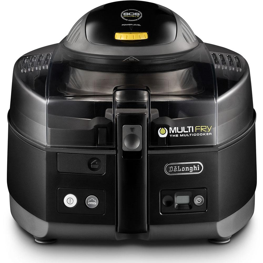 DeLonghi FH1163 MultiFry 3.8 Qt. Black Electric Multi-Cooker and Air Fryer