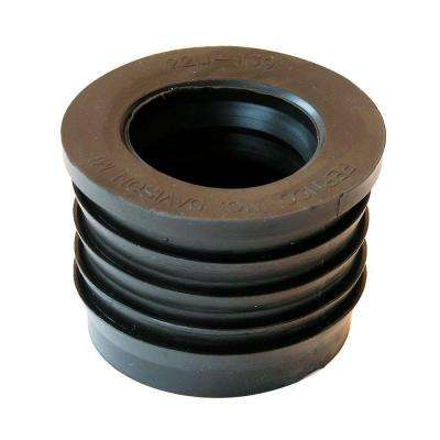 2 in. Service Weight Cast Iron x 1-1/2 in. Sch. 40 PVC Compression Donut