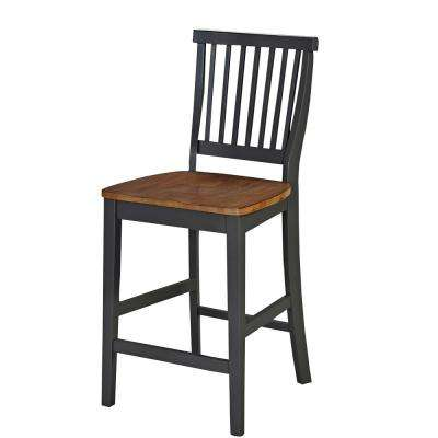 Americana 24 in. Gray Bar Stool
