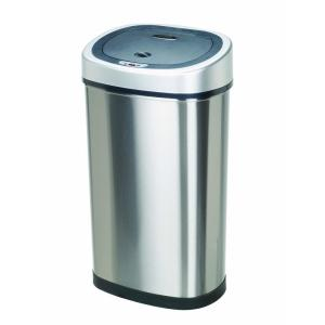 nine stars stainless steel trash cans dzt 50 9 64_300 hdx 80 l motion sensor trash can ek9288thd 80l the home depot HDX Outdoor Trash Can at creativeand.co