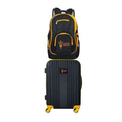 NCAA Arizona State Sun Devils 2-Piece Set Luggage and Backpack