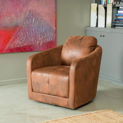 Concordia Brown Swivel Chair