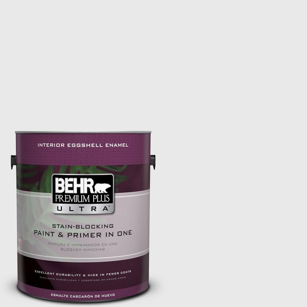 1 gal. #PWN-44 Bay Breeze Eggshell Enamel Interior Paint and Primer