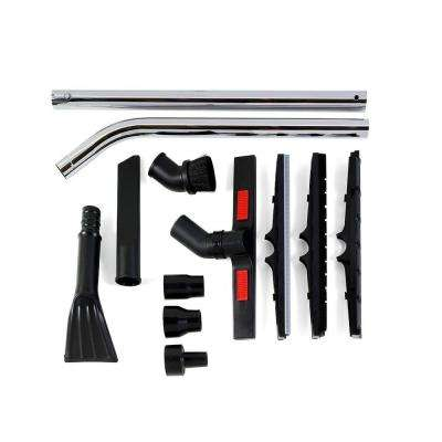 1-7/8 in. and 2-1/2 in. 12-Piece Heavy-Duty Cleaning Accessory Kit for RIDGID Wet Dry Vacs