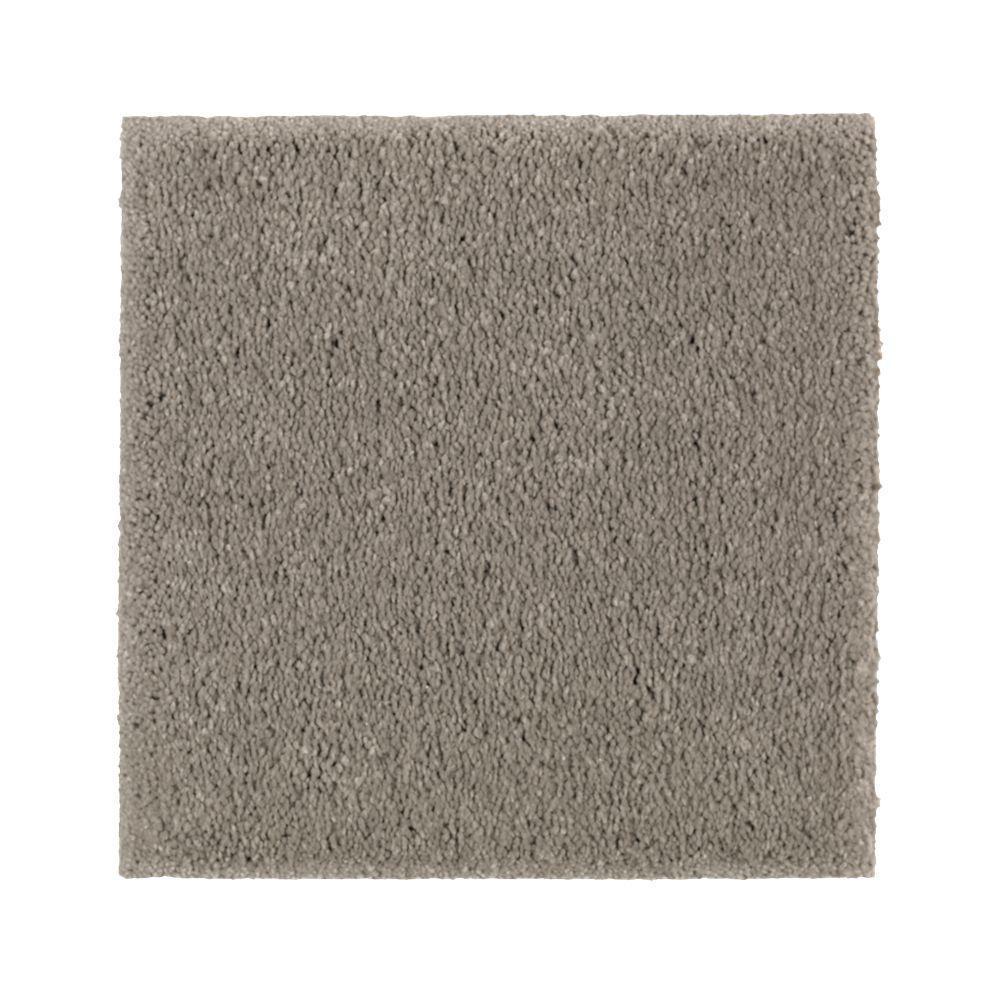 Carpet Sample - Gazelle II - Color Meandering Texture 8 in. x 8 in.