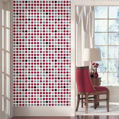 Wall In A Box Retro Dots Feature Wall