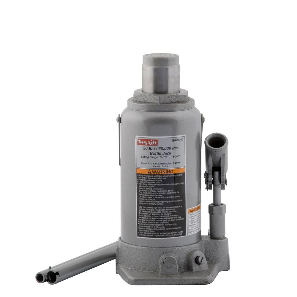 Pro-Lift 30 Ton Bottle Jack